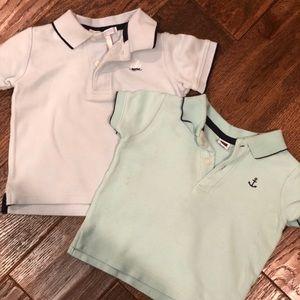 Other - Boys Janie and jack shirt bundle 6-12m